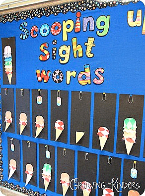 Scooping Up Sight Words