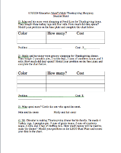MoreToMath Student Sheet