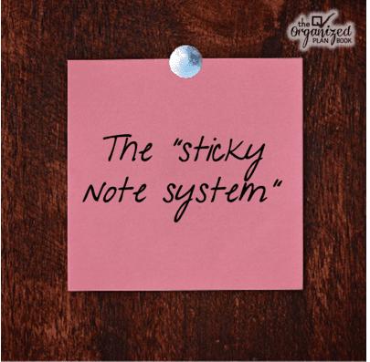 Sticky Note System