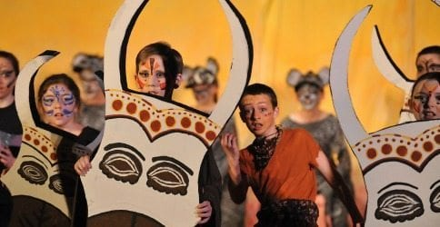 From Broadway To Middle School How To Stage The Lion King