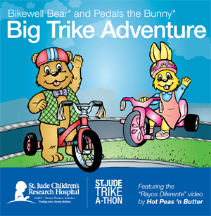 DVD Cover for St. Jude Trike-A-Thon Activities