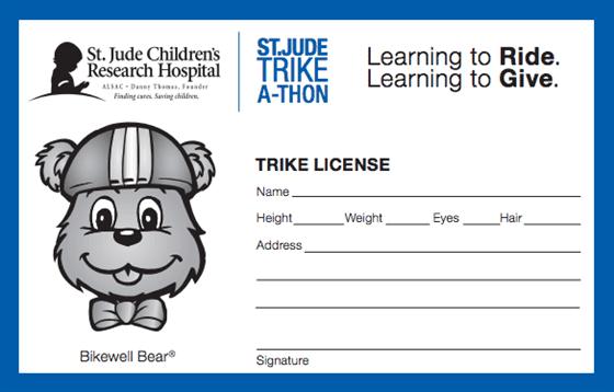 Trike Bike License
