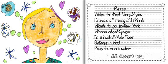 Write About Students' Hopes for the Future - 10 Ideas for Class-Made Books