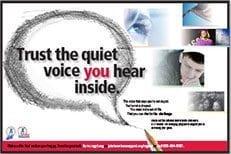 Trust the Quiet Voice You Hear Inside