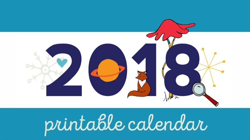 picture relating to Free Printable Calendars for Teachers known as 2018 Instructor Calendar - Totally free Printable for Your Clroom