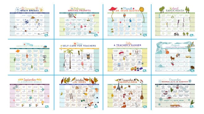 Free Printable 2019 Teacher Calendar - WeAreTeachers