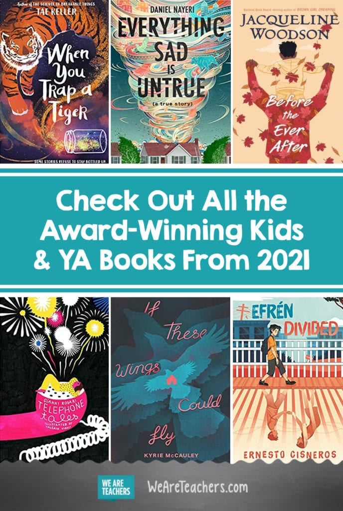 Check Out All the Award-Winning Kids & YA Books From 2021