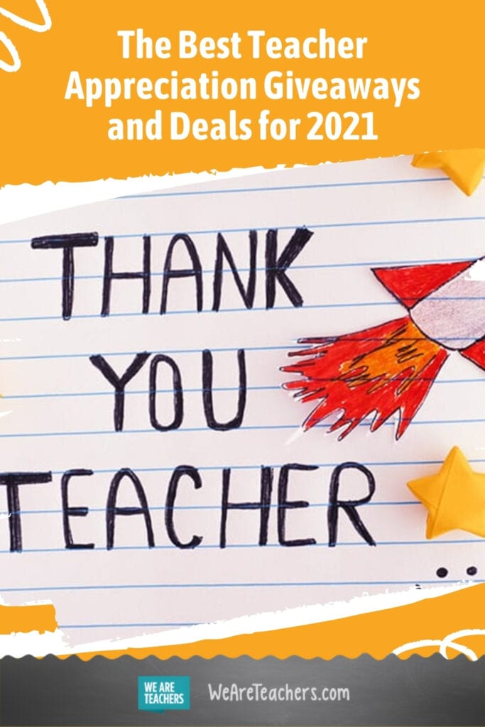 The Best Teacher Appreciation Giveaways and Deals for 2021