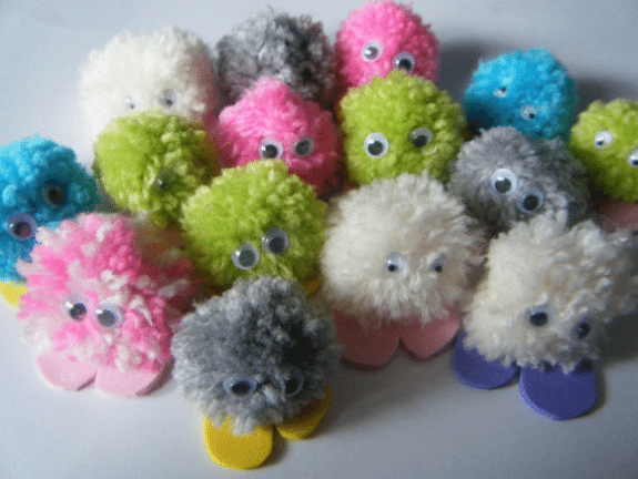Pompom Critters - 20 Creative K-5 Classroom Incentives Your Students Will Love