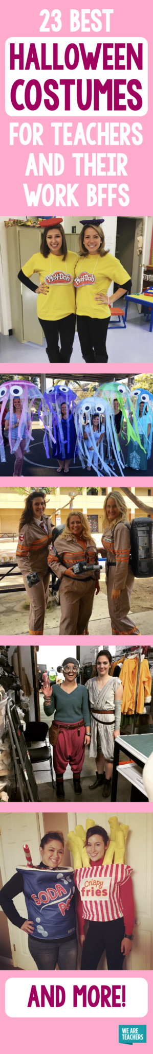 What group or partner Halloween costumes for teachers have you spotted in the wild? Please share your ideas in the comments!  sc 1 st  WeAreTeachers & 23 Best Teacher Halloween Costumes (for Groups u0026 Partners)