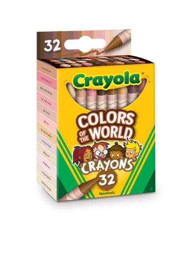 """Colors of the world"" Crayola crayons."