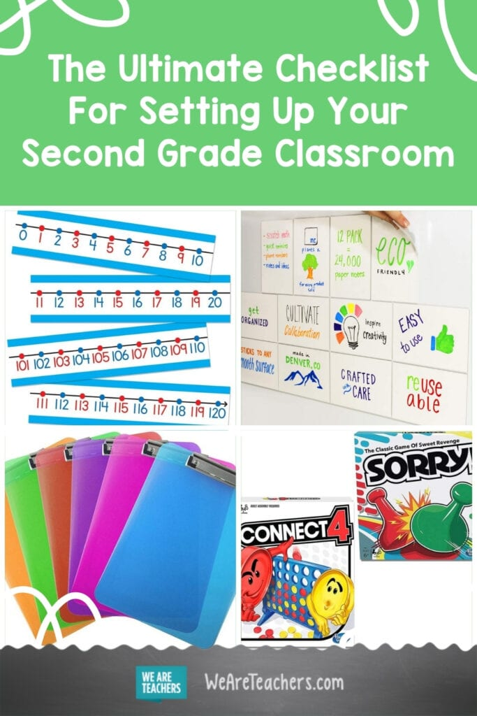 The Ultimate Checklist For Setting Up Your Second Grade Classroom