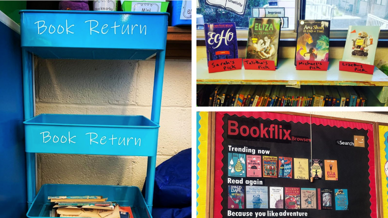 30 Classroom Library Ideas