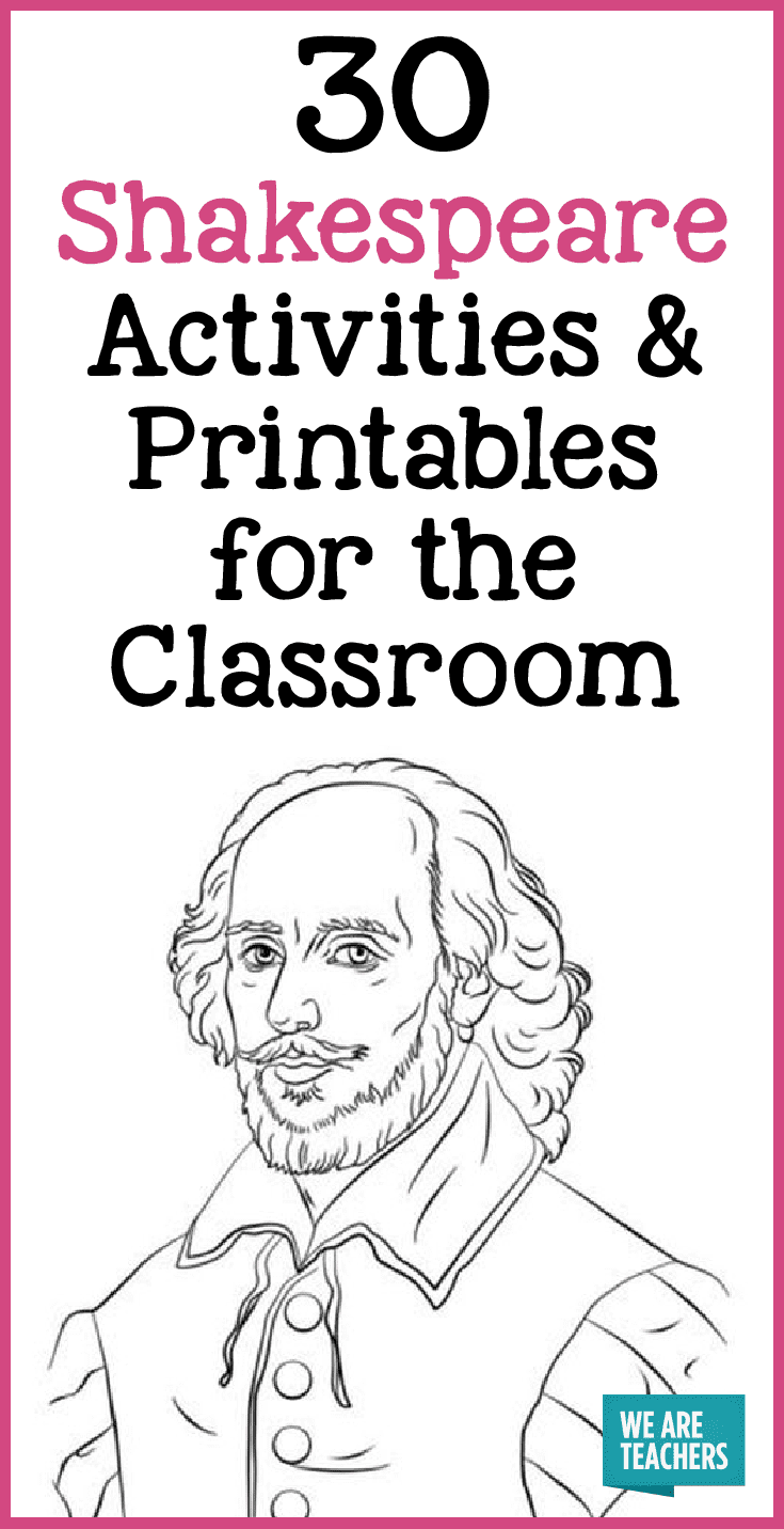 plus how to teach shakespeare so your students wont hate it