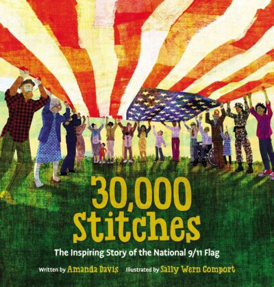 30,000 Stitches, the story of the 9/11 flag boo cover