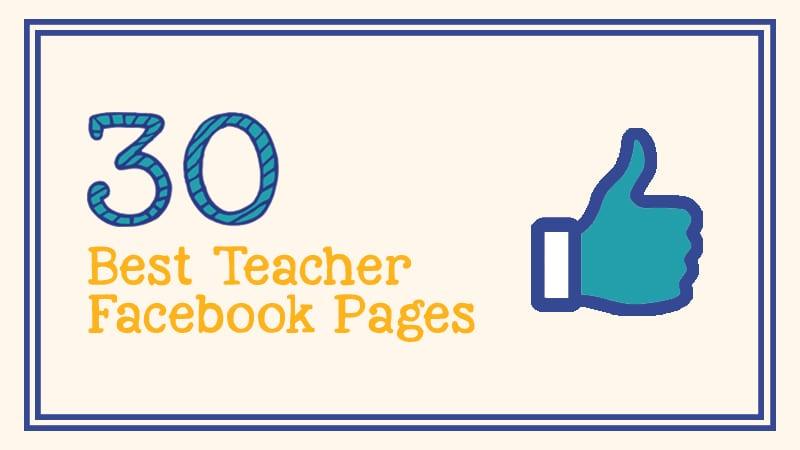 30 teacher facebook pages you should follow today weareteachers
