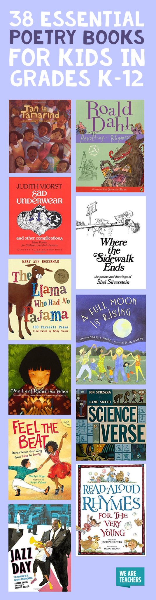 Best Poetry Books for Kids in Grades K-12 - WeAreTeachers