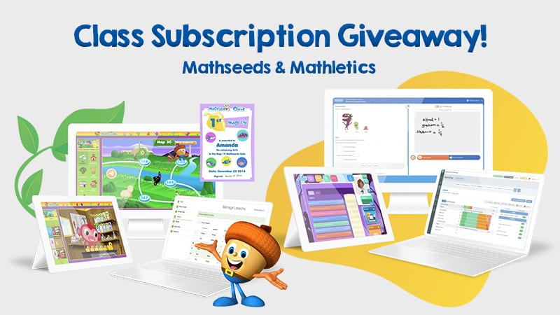 Class Subscription Giveaway! Mathseeds Mathletics