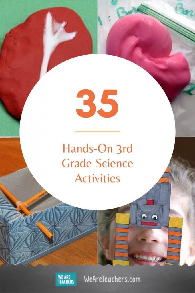 35 Hands-On Third Grade Science Activities
