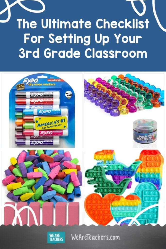 The Ultimate Checklist For Setting Up Your 3rd Grade Classroom