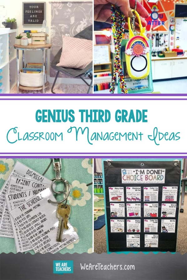 The Cleverest Third Grade Classroom Management Tools and Ideas