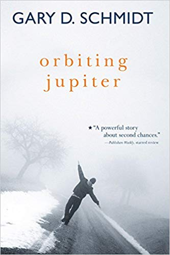 Orbiting Jupiter book cover--middle school books