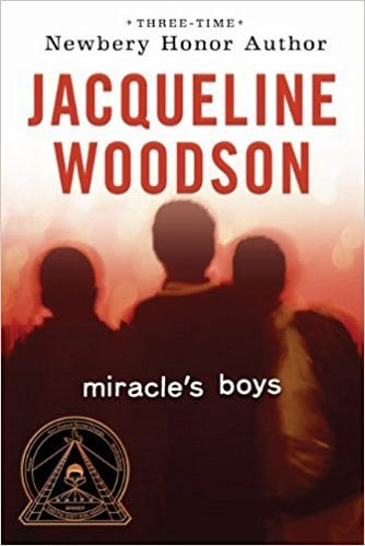 Book cover for Miracle's Boys as an example of social justice books for kids