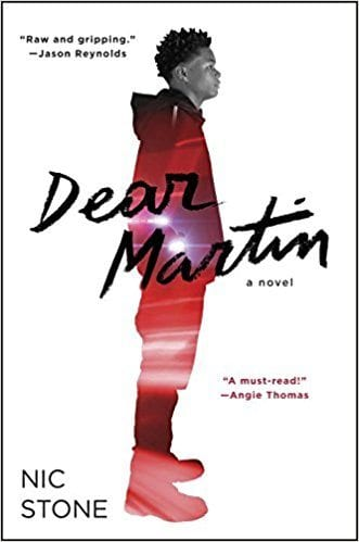 Book cover for Dear Martin as an example of social justice books for kids
