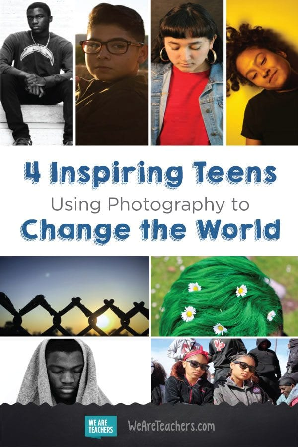 4 Inspring Teens Using Photography to Change the World