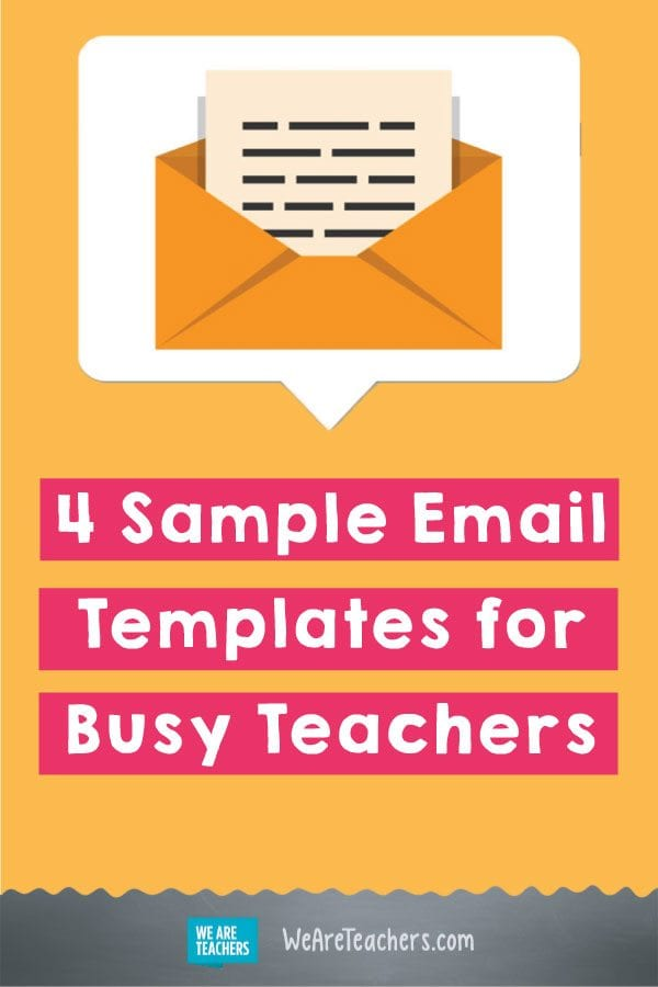 4 Sample Email Templates for Busy Teachers