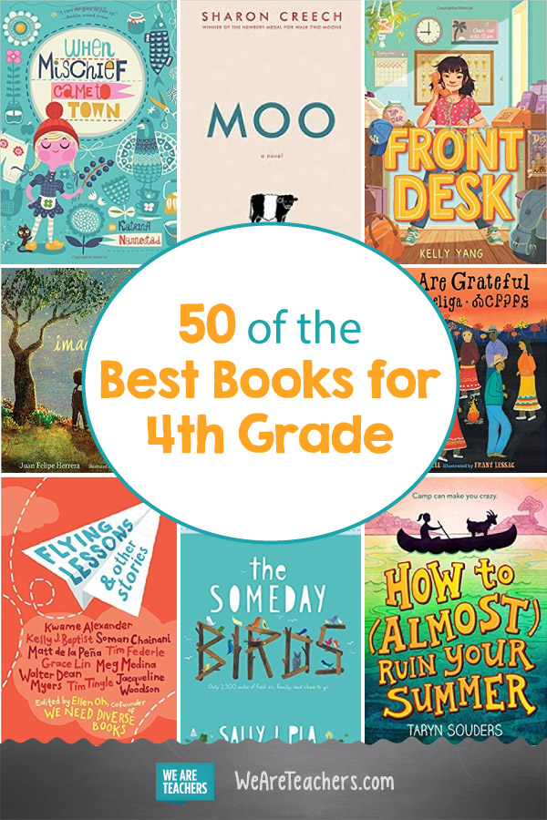 50 of the Best Books for 4th Grade