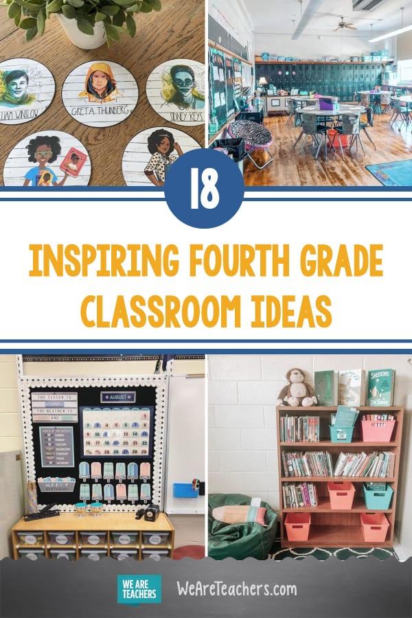 18 Fresh & Fun Fourth Grade Classroom Ideas