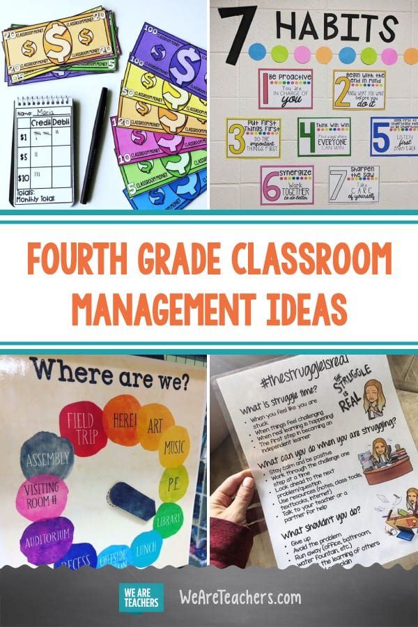These Fourth Grade Classroom Management Ideas Will Make Your Teacher Life Easier