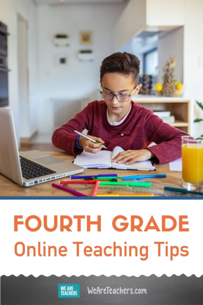 Your Guide to Teaching 4th Grade Online