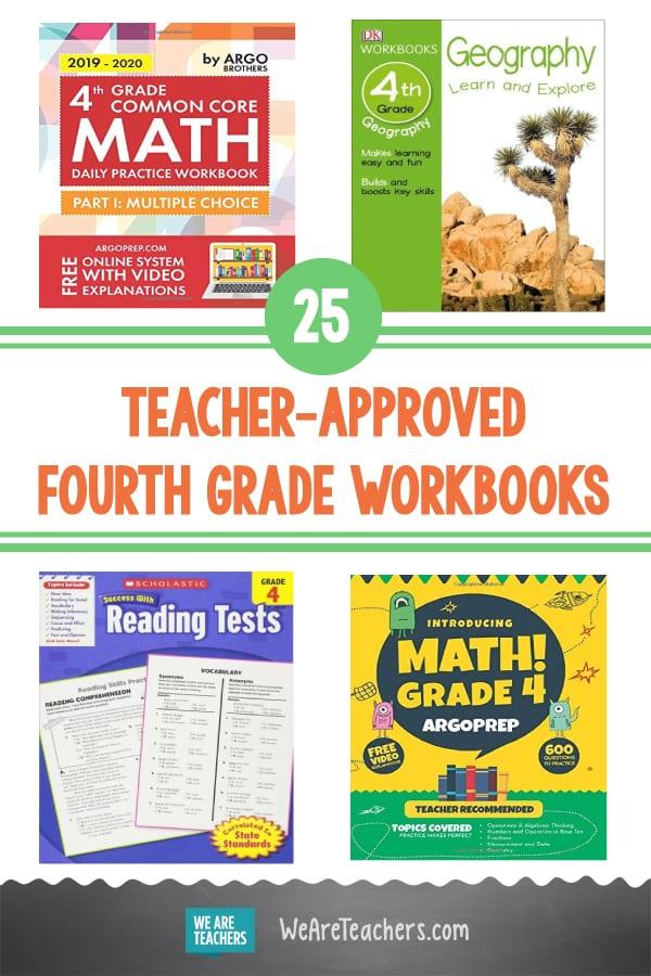 25 Teacher-Approved Fourth Grade Workbooks