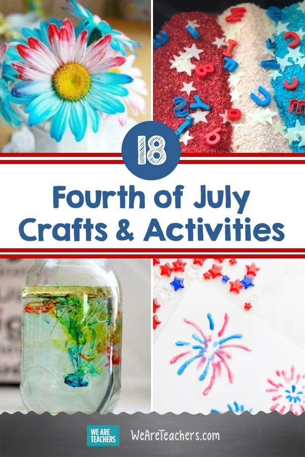 18 Crafts and Activities for the Fourth Of July