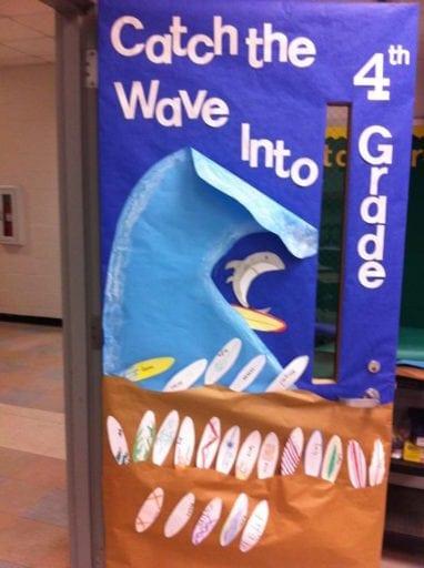 door design for kindergarten classroom  | 736 x 981