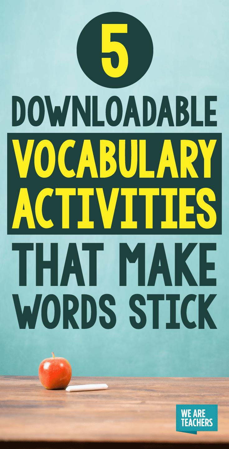 Make Word Sticks