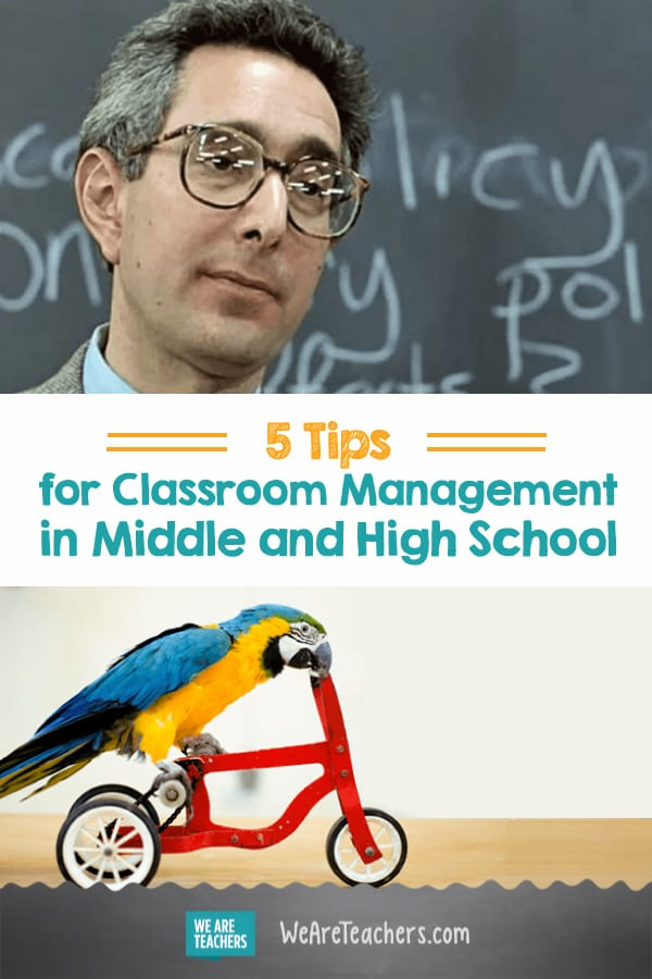 5 Tips for Classroom Management in Middle and High School (That Actually Work)