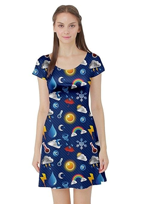 d95ecda3e56 This fun and memorable pattern is exactly Ms. Frizzle s signature look. If  it seems a little short for work
