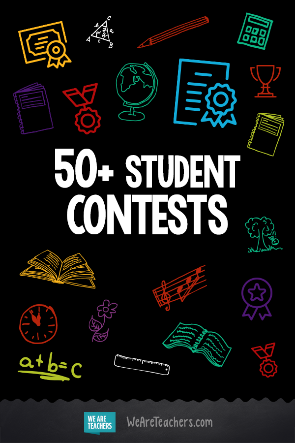50+ Student Contests