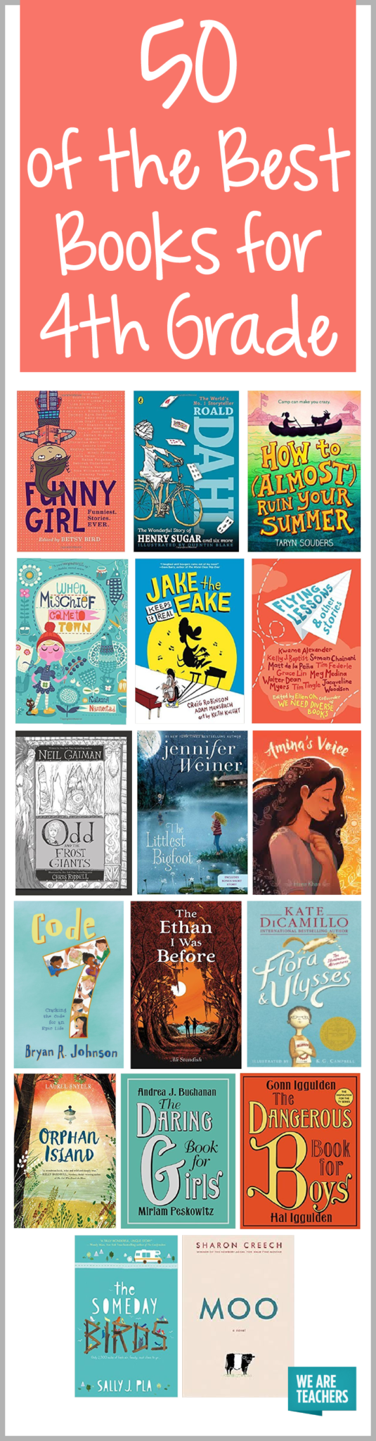 Best 4th Grade Books For The Classroom Weareteachers