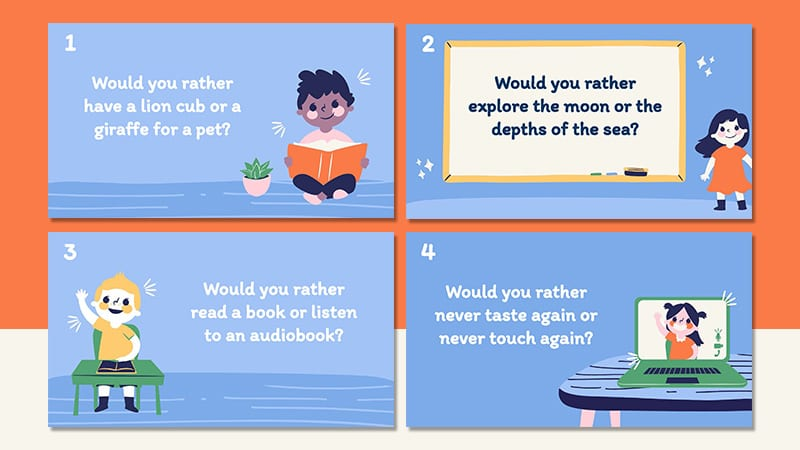 50 Would You Rather Scenarios For Elementary Students