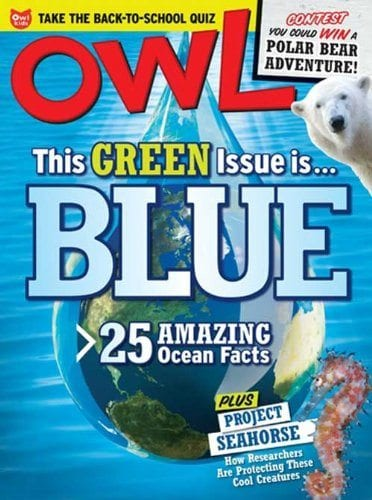 Sample issue of Owl magazine