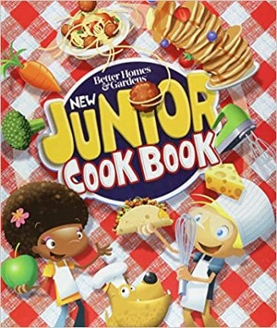 Homes and gardens new junior cookbook