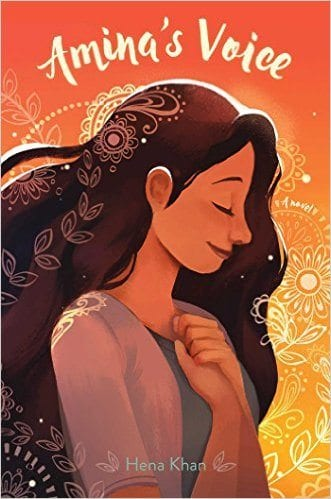 Book cover for Amina's Voice as an example of social justice books for kids