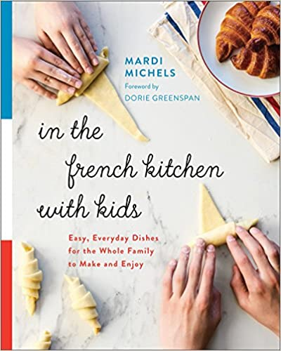 French kitchen with kids
