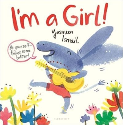 Book cover for I'm a Girl!