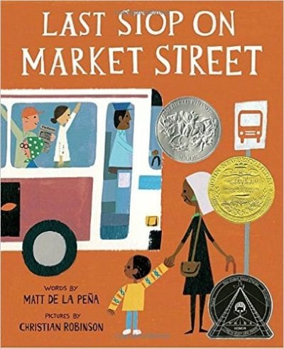 Book cover for Last Stop on Market Street