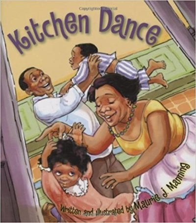 Book cover for Kitchen Dance as an example of mentor texts for narrative writing